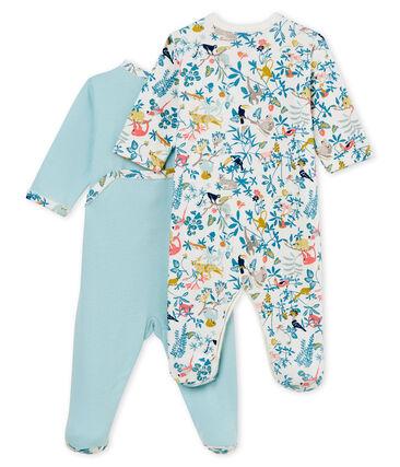 Duo tutine pigiama bambina a costine