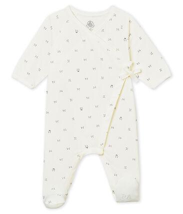 Tutina con apertura incrociata per bebé unisex