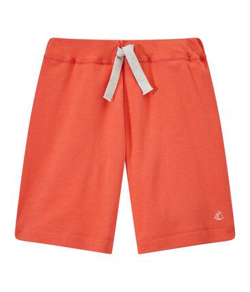 Short bambino arancione Orient
