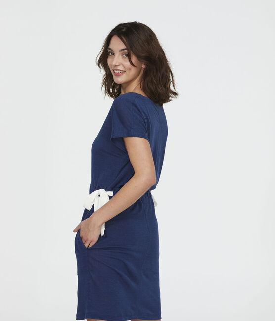 Abito donna blu Medieval