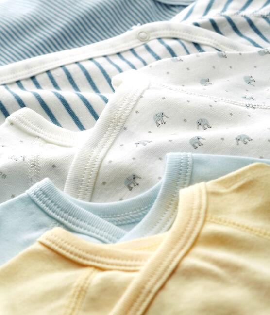 Confezione da 5 body nascita bebè maschio lotto .