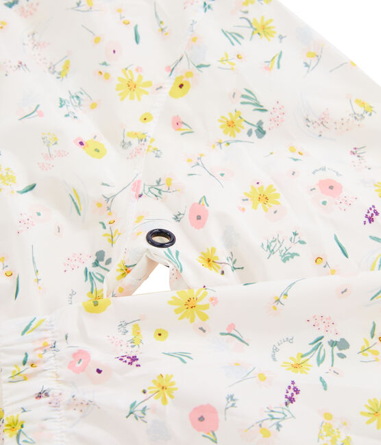 Giacca a vento bambina bianco Marshmallow / bianco Multico