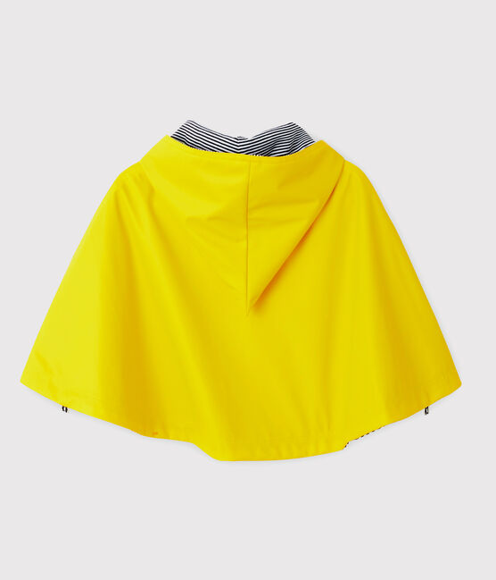 Mantella antipioggia Petit Bateau bebè femmina/maschio giallo Jaune