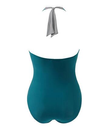 Costume da bagno donna intero verde Rivage