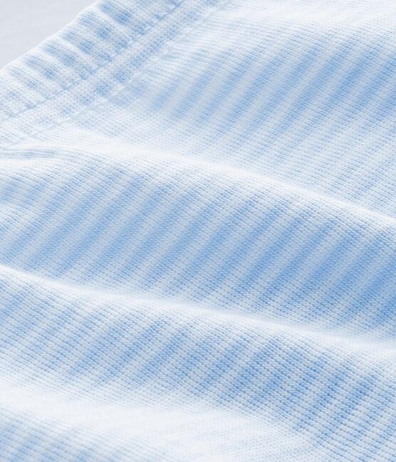 GHETTINE BEBÉ UNISEX TINTA UNITA blu Fraicheur / bianco Ecume