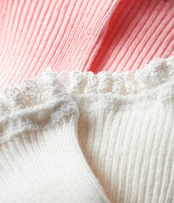 Set di 2 paia di calzini bebè bambina MINOIS