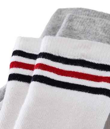 Confezione da 2 paia di calzini bambino lotto .