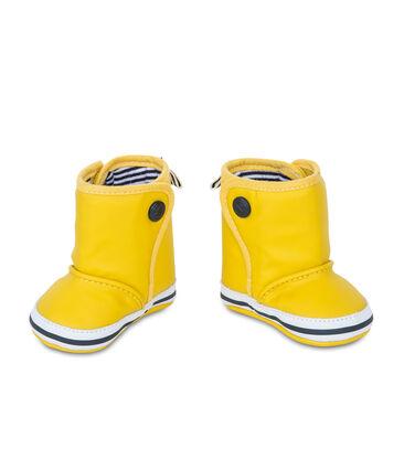 Scarpine stivali fa pioggia bebè giallo Jaune