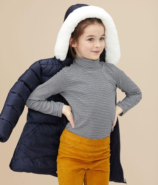 Sottogiacca bambina/bambino blu Smoking / bianco Marshmallow