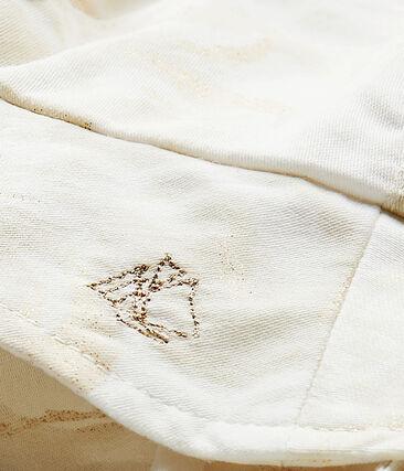 Cappellino bebé bambina bianco Marshmallow / bianco Multico