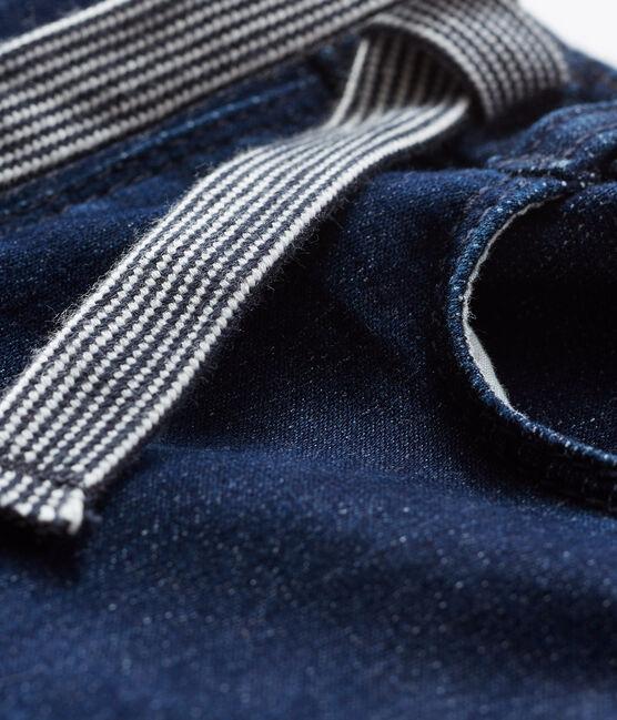 Pantaloni in maglia effetto denim per neonati JEAN