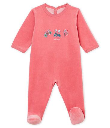 Tutina per bebé rosa Cheek
