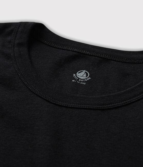T-shirt maniche corte Uomo nero Noir