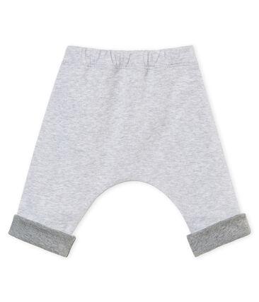Pantalone rivestito per bebé unisex grigio Poussiere Chine