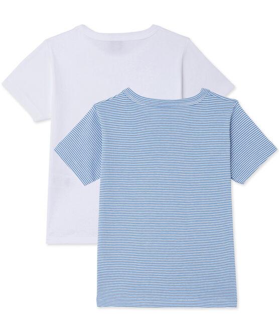 Lotto di 2 t-shirts per bambino lotto .
