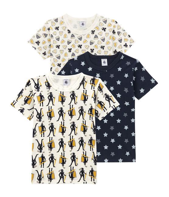 Lotto di 3 t-shirts a maniche corte per bambino lotto .