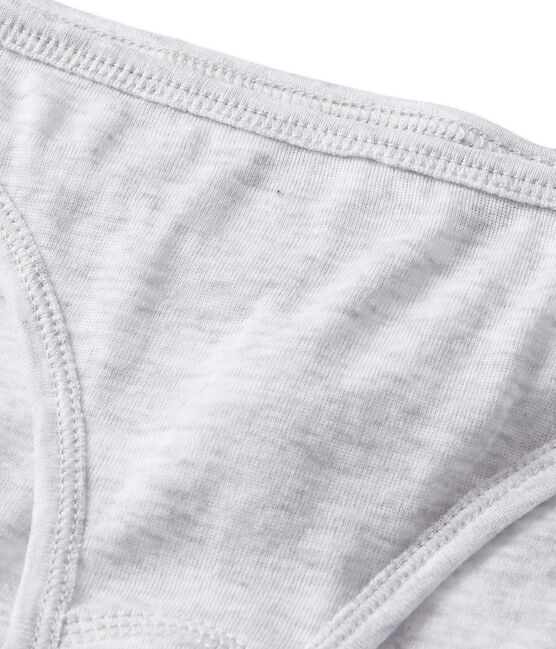 Culotte donna in cotone leggero grigio Poussiere Chine