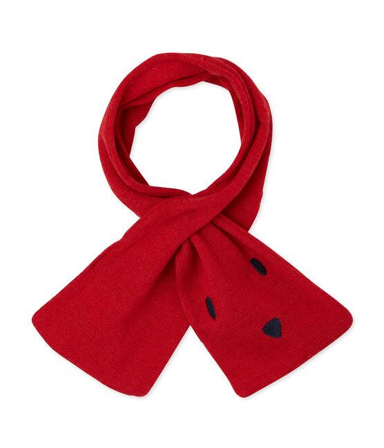 Sciarpa per bebé unisex rosso Froufrou