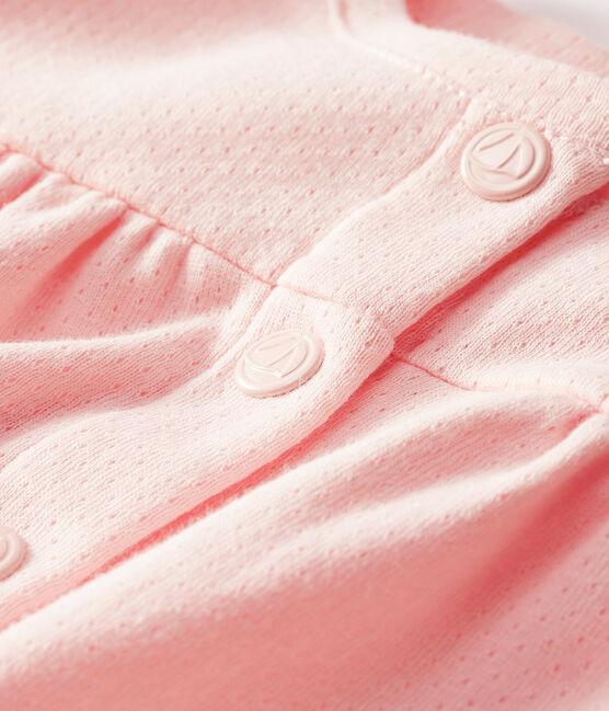 Cardigan bebè femmina rosa Minois
