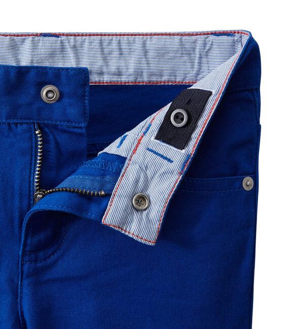 Pantaloni colorati per bambino in jeans blu Perse