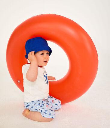 Cappello da pescatore bebè unisex blu Surf