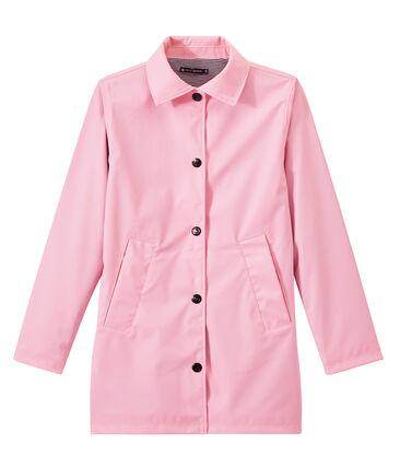 Cerata donna impermeabile stile cappotto rosa Babylone