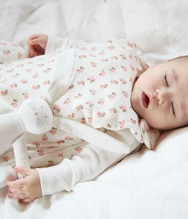 Sacco nanna bebè in ciniglia bianco Marshmallow / bianco Multico