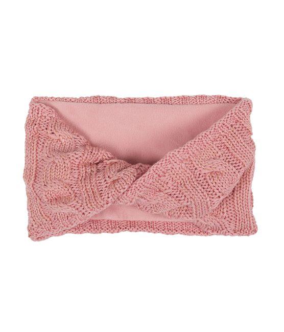 Ampia fascia paraorecchie bambina rosa Charme / giallo Or