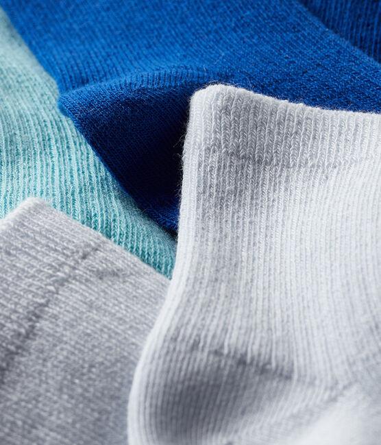 Set di 3 paia di calzini bebè bambino e bambina lotto .