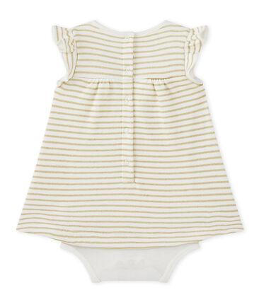 Abito-body per bebé femmina rigato