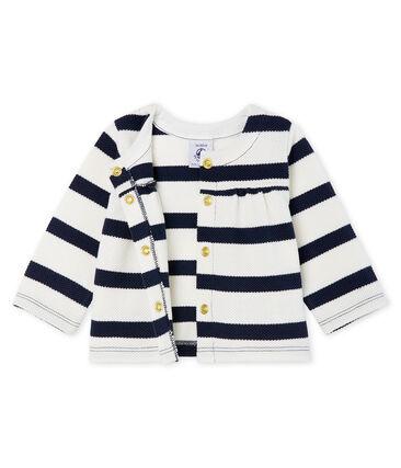 Cardigan righe marinare neonata
