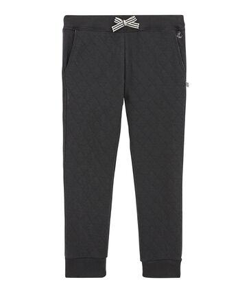 Pantalone in tubique matelassé per bambino grigio Capecod