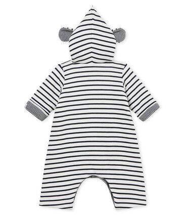 Tutina lunga con cappuccio bebè unisex