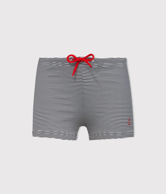 Shorts mare UPF 50+ bimbo blu Abysse / bianco Lait