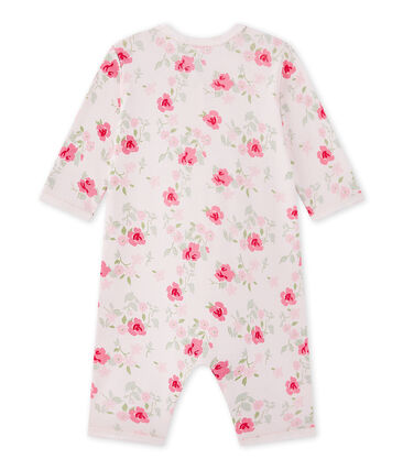 Tutina senza piedi bebè bambina stampata
