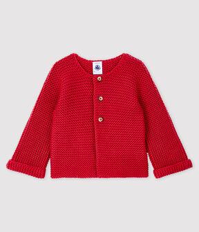 Cardigan lana e cotone bebè femmina POPPY