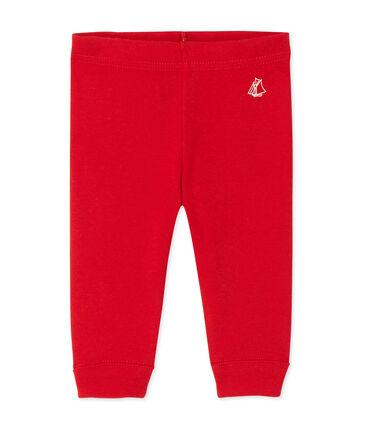 Leggings per bebè femmina rosso Froufrou
