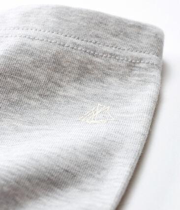 Leggings bebè femmina grigio Beluga