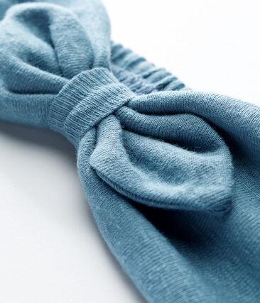 Fascia capelli bebè femmina blu Fontaine