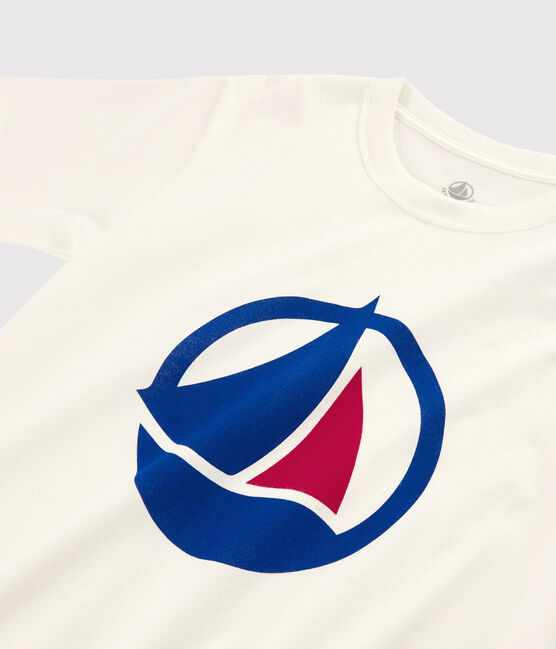 T-shirt Made in France Donna/Uomo bianco Marshmallow