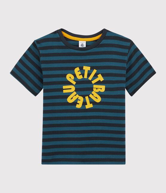 T-shirt a righe bambino SMOKING/SHADOW