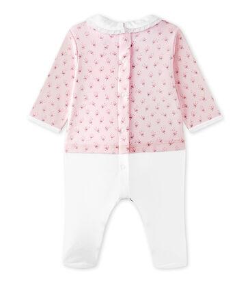 Tutina per bebé femmina doppio tessuto