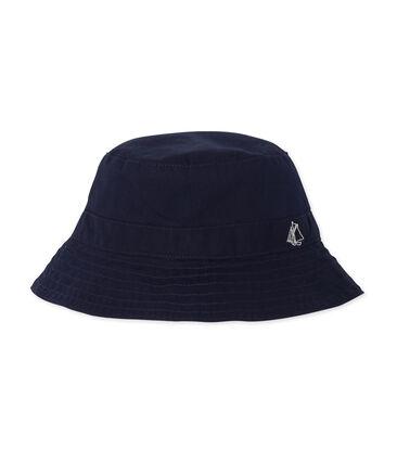 Cappello da pescatore bebè unisex blu Smoking
