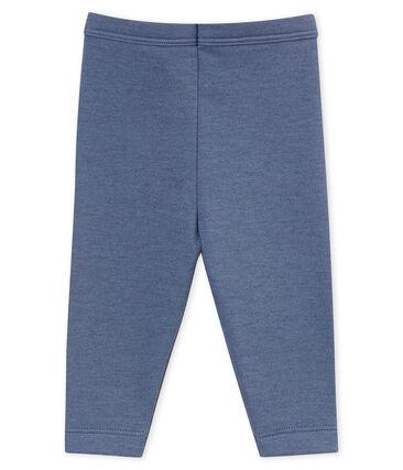 Leggings per bebé maschio blu Turquin