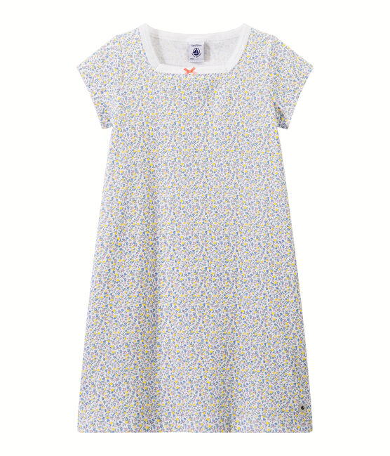 Camicia da notte bambina stampata bianco Ecume / bianco Multico