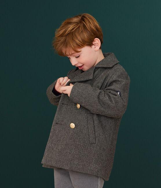 Caban in drap di lana ragazzo CITY CHINE