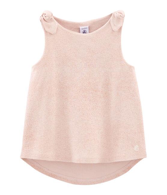 Canottiera bambina rosa Pearl / rosa Copper