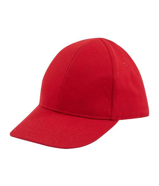 Berretto con visiera bambino unisex rosso Terkuit