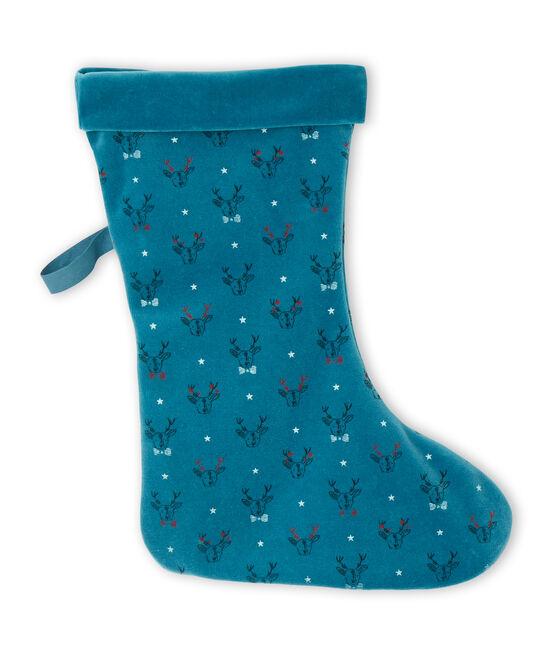 Calzine di Natale blu Contes / bianco Multico