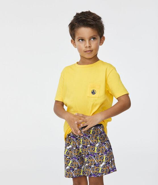 Shorts mare stampati bambino bianco Marshmallow / bianco Multico